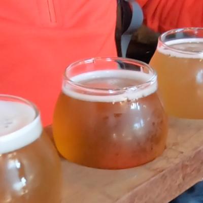Tennessee Brew Works flight
