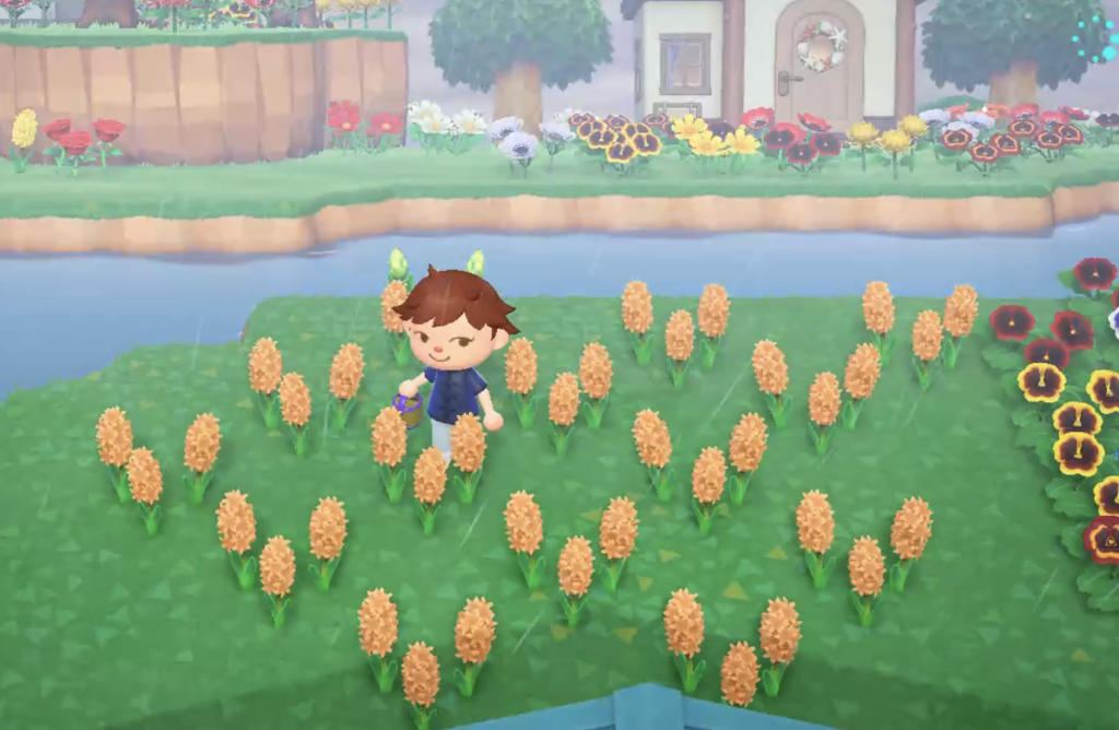Animal Crossing flower breeding