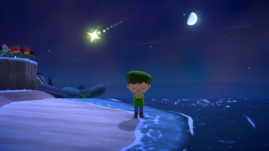 shooting star wish Animal Crossing New Horizons