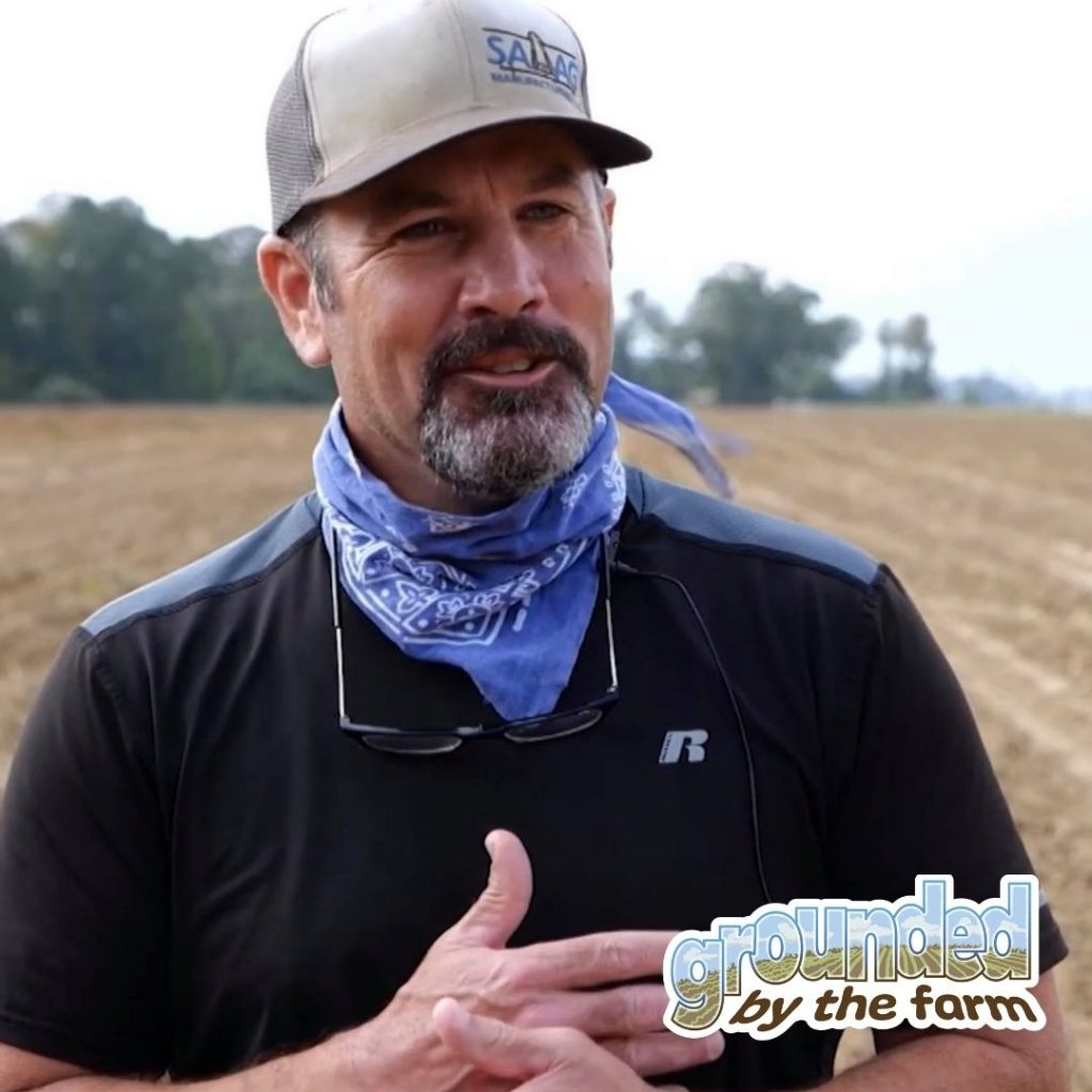 Todd O'Neal Sweet potato farmer