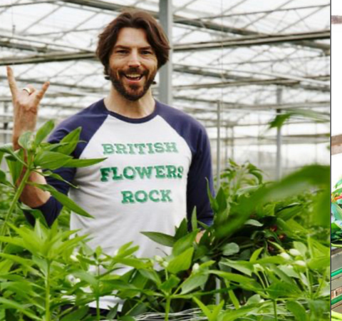 Who grew the flowers in that bouquet? Talking Local Flowers with England's Ben Cross