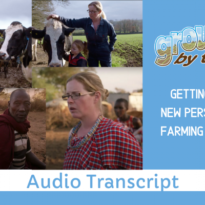 Getting a Whole New Perspective on Farming and on Life Paula Hynes